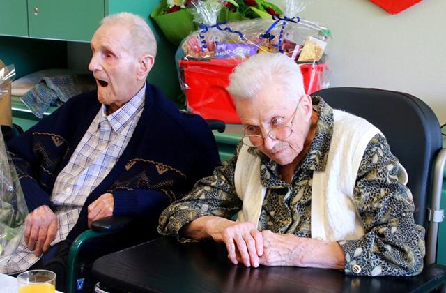 Egy napon halt meg a legidősebb belga házaspár