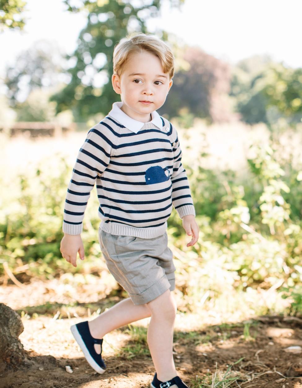 Friss fotók György hercegről - megzabálod, olyan édes