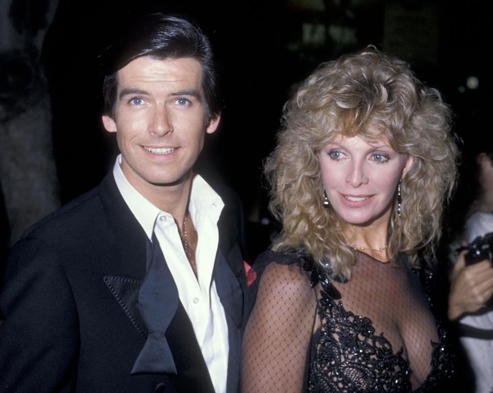 Cassandra Harris-szel 1984-ben