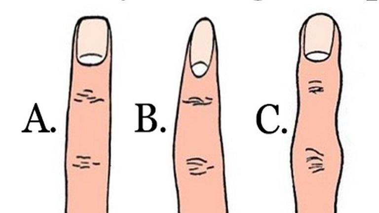 Milyen alakú az ujjad? Árulkodik a személyiségedről!