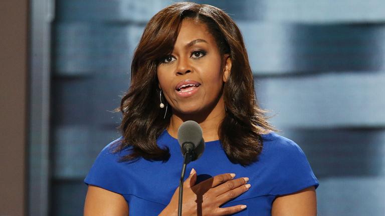 Michelle Obama beszéde egyégesítheti a demokratákat Hillary Clinton mögött.