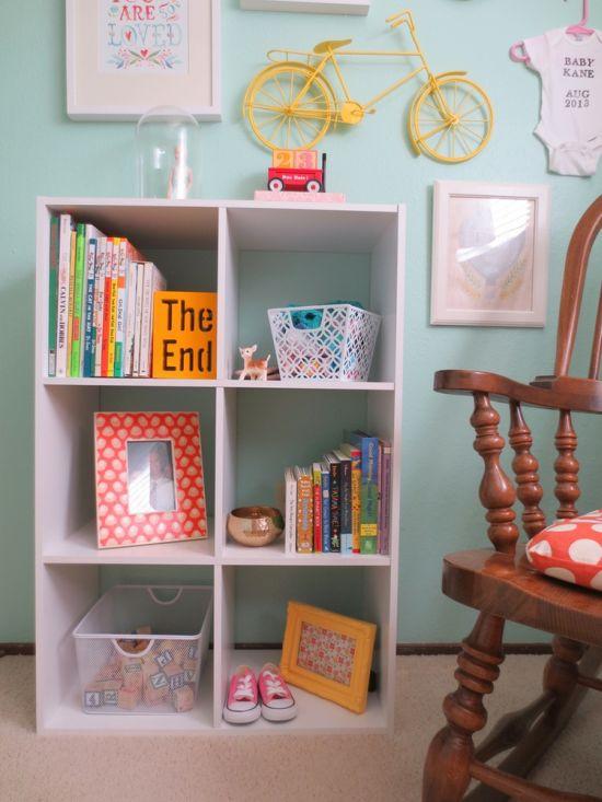 Egy kislány csupa szín, csicsamentes szobája, amitől jókedved támad