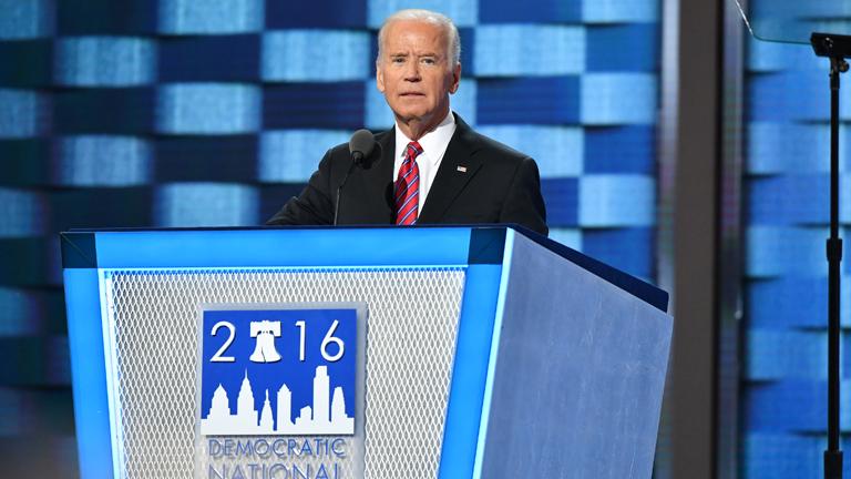 Joe Biden beszéde a 2016-os Demokrata Konvención