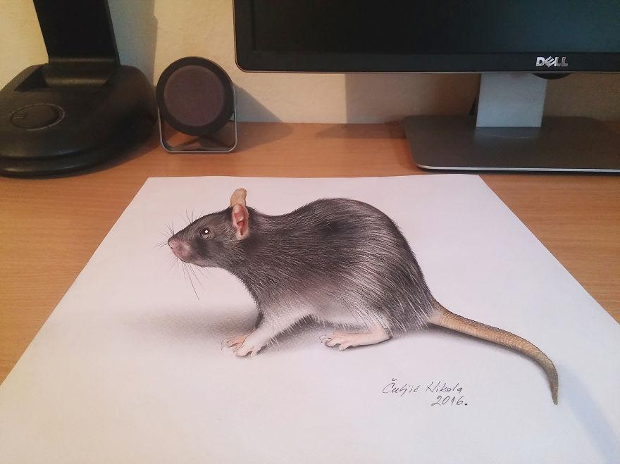 3D-s rajzok, amiktől te is leszédülsz a székről