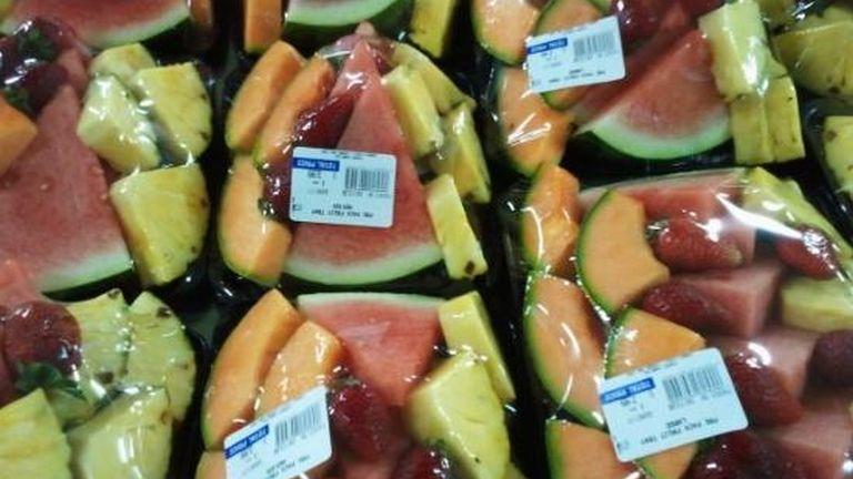 Az előre feldarabolt gyümölcsöket inkább kerüljük