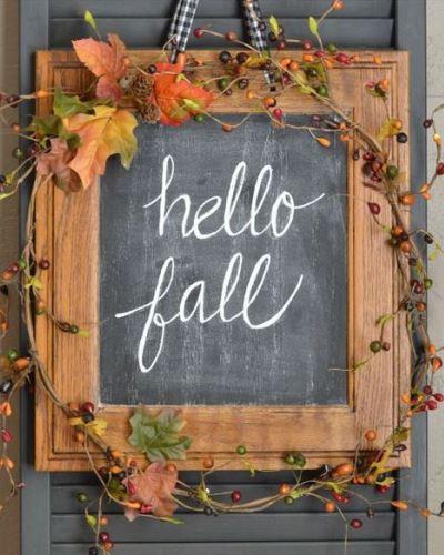 10 szuper őszi ajtódekorációs ötlet