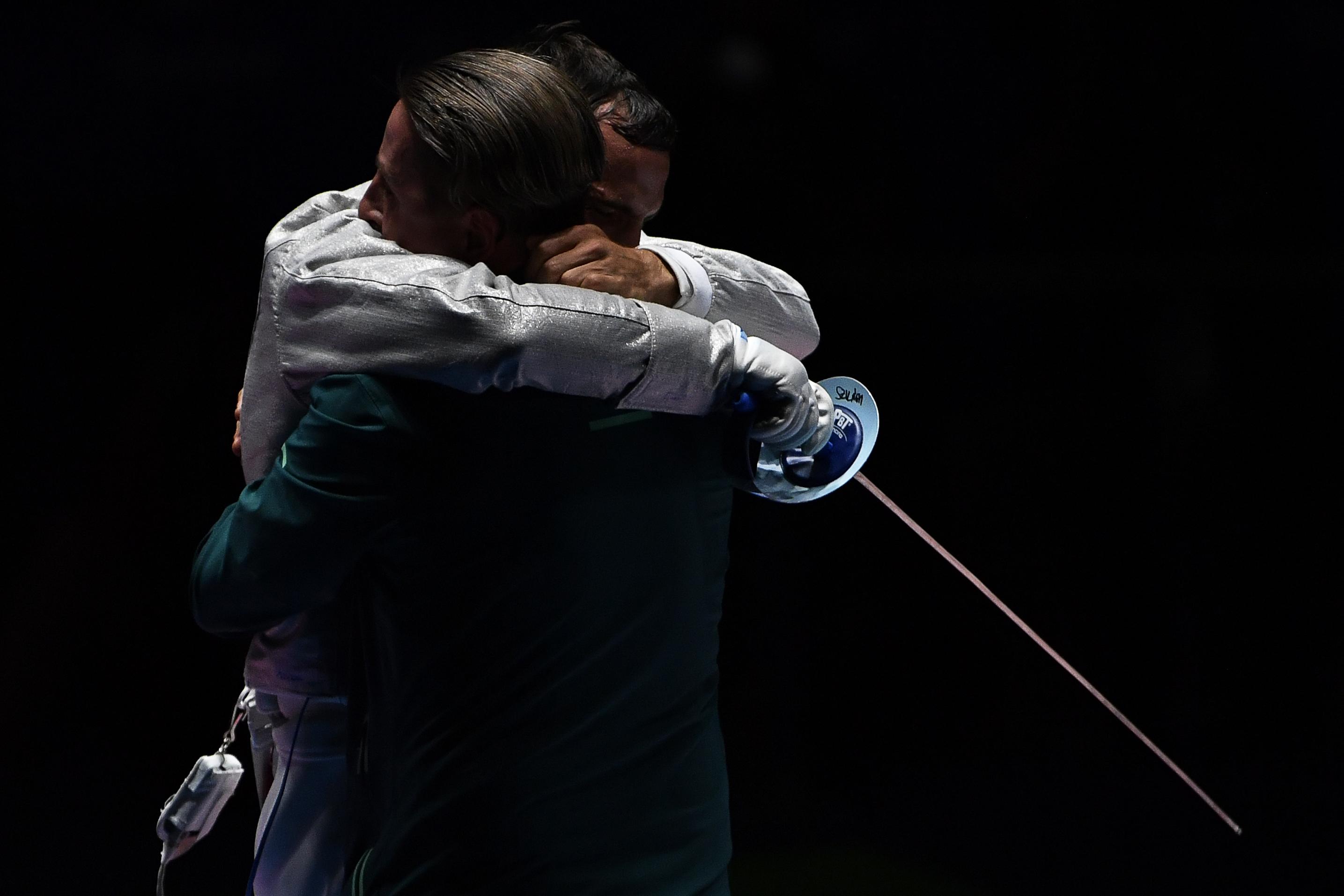 Olimpia 2016: Szilágyi Áron öt arca a győzelem pillanatában