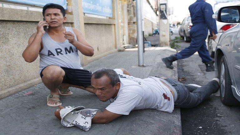 Megrázó fotók a thai robbantássorozatról