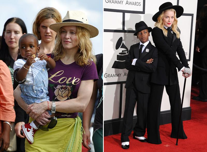 David és Madonna