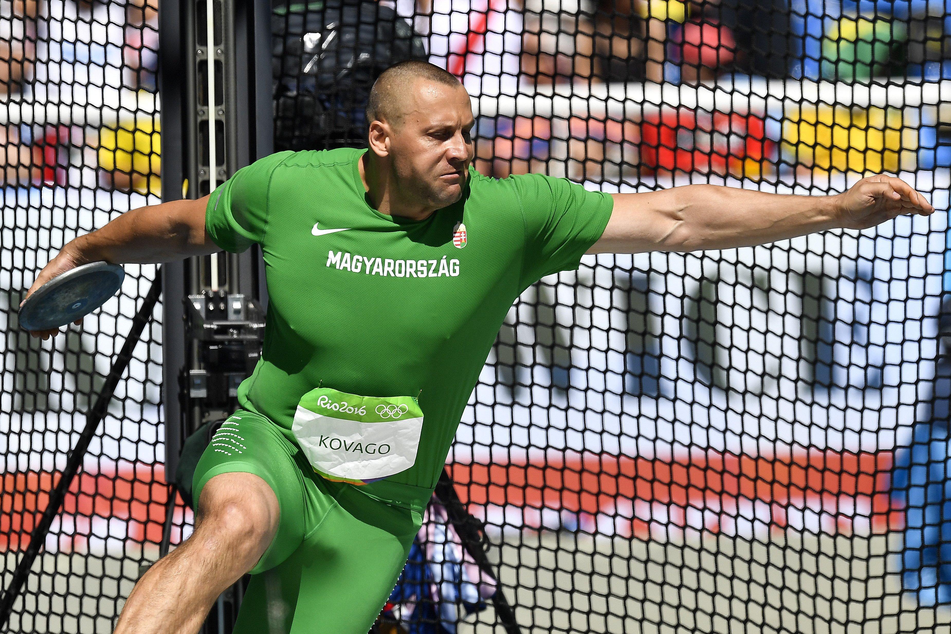 Olimpia 2016: Kővágó Zoltán hetedik diszkoszvetésben