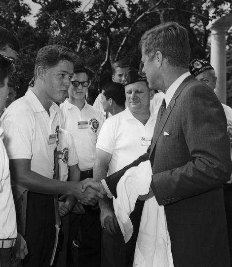 Clinton és J.F. Kennedy