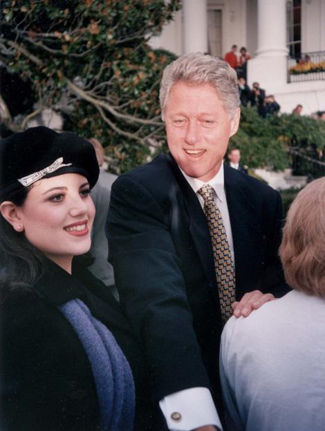 Monica Lewinsky és Bill Clinton