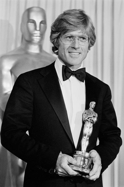 Robert Redford az első Oscar díjával