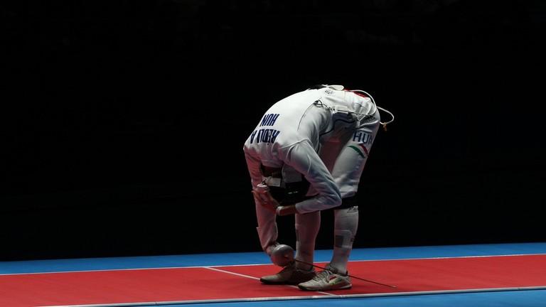 Olimpia 2016: így idegesíti ellenfeleit Rédli András