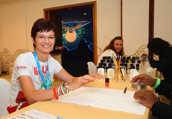 Olimpia 2016: Anyukájával együtt lazít Hosszú Katinka – fotóval