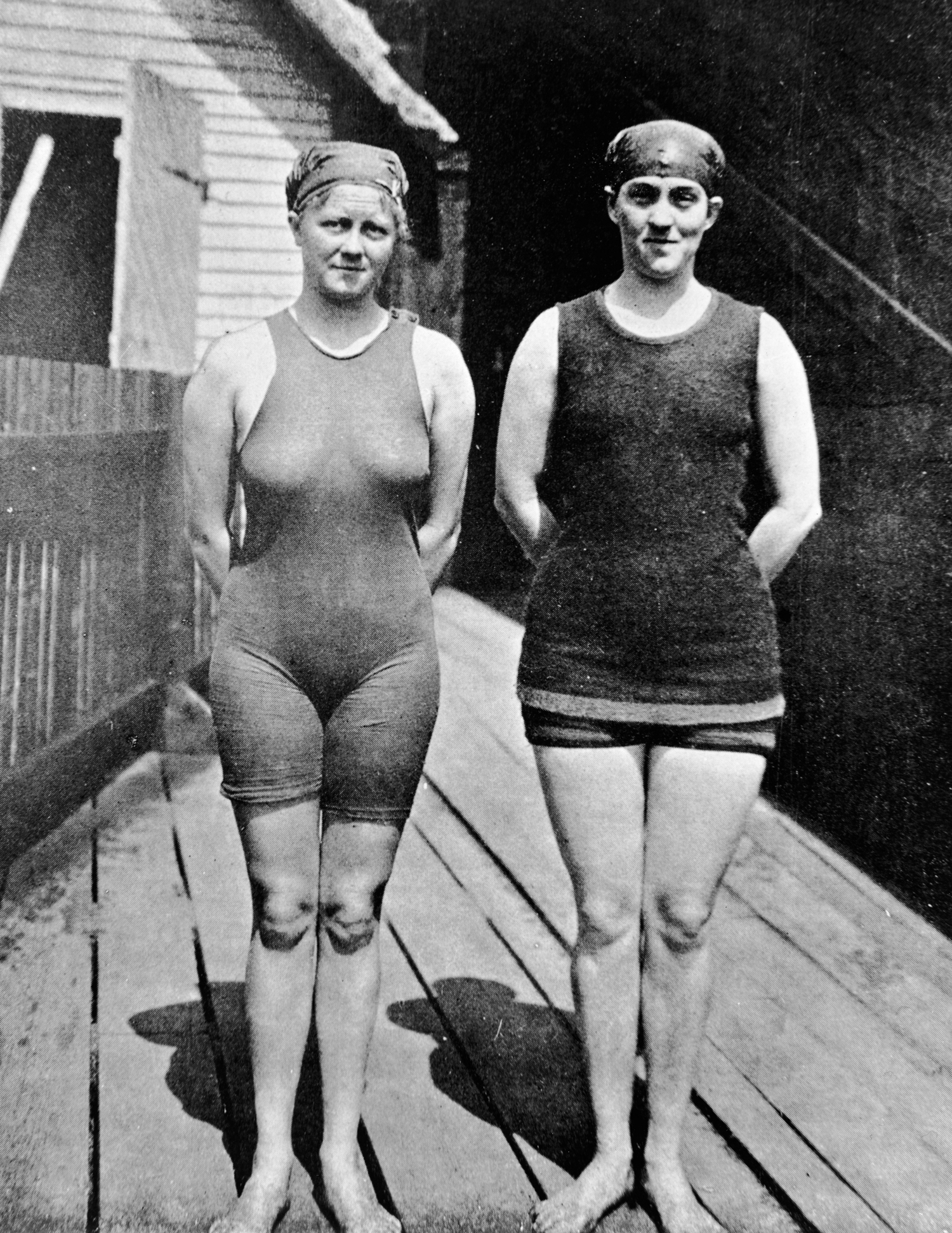Nézd meg, milyen ruhákban versenyeztek az olimpikonok régen!
