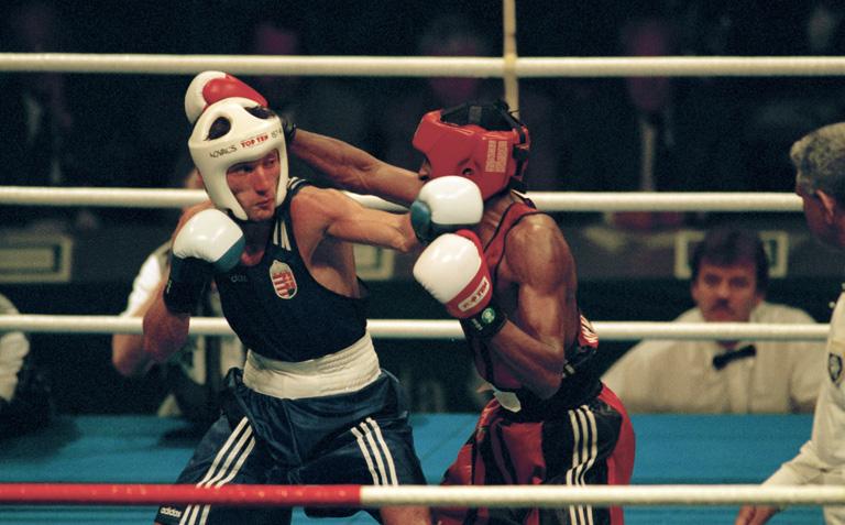 Kokó és Arnaldo Mesa az atlantai olimpián