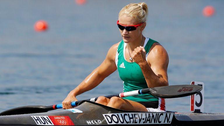 Olimpia 2016: Douchev-Janics Natasa középfutamba jutott 200 méter kajakban