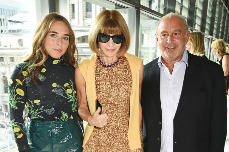 Chloe Green, Anna Wintour és Sir Philip Green