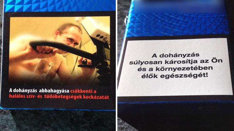 Szombattól nem tudsz különbséget tenni a cigisdobozok között