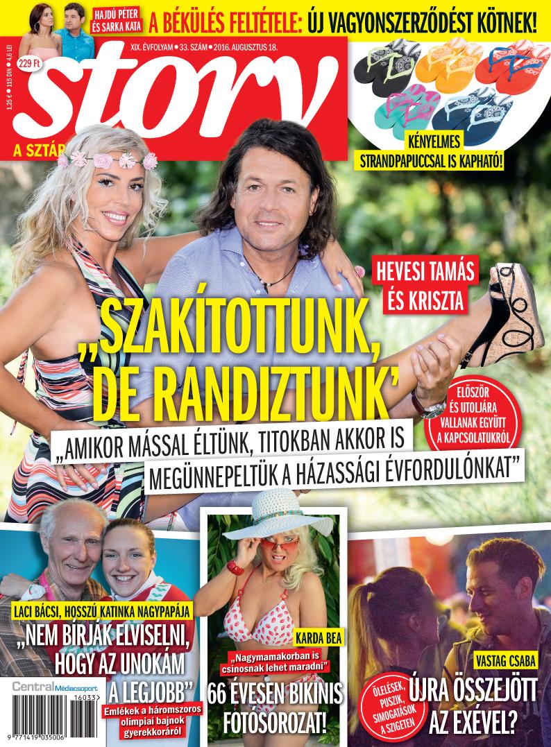 Vastag Csaba újra összejött az exével?