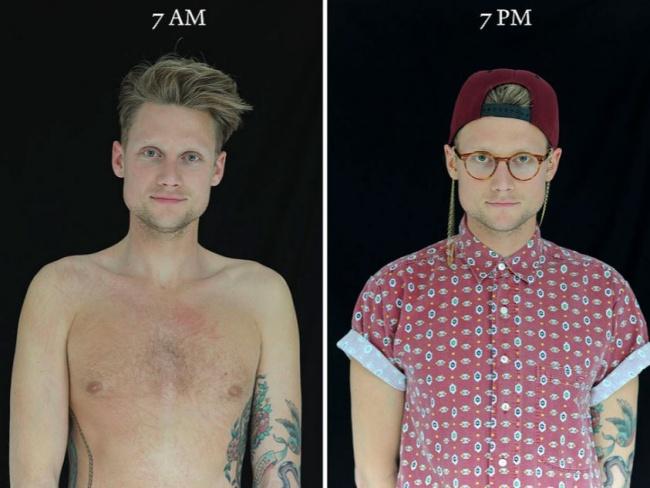 Ennyit változik egy ember külseje mindössze 12 óra alatt - megdöbbentő fotók