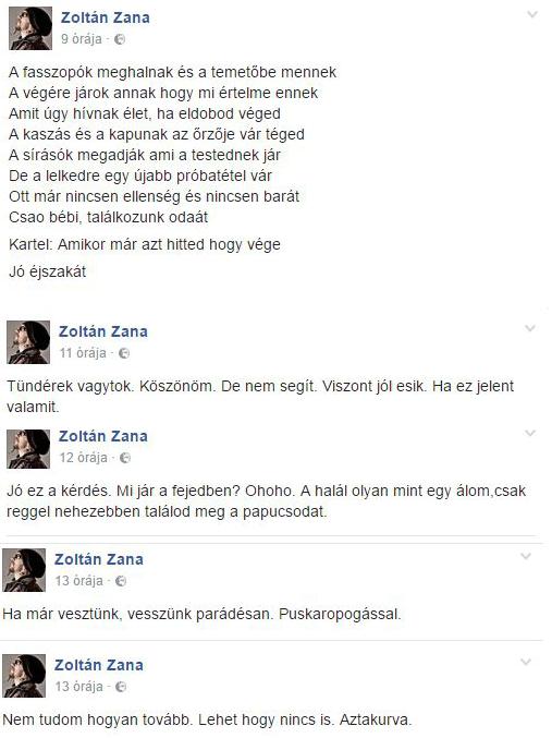 Ganxsta Zolee életéért aggódnak a rajongók