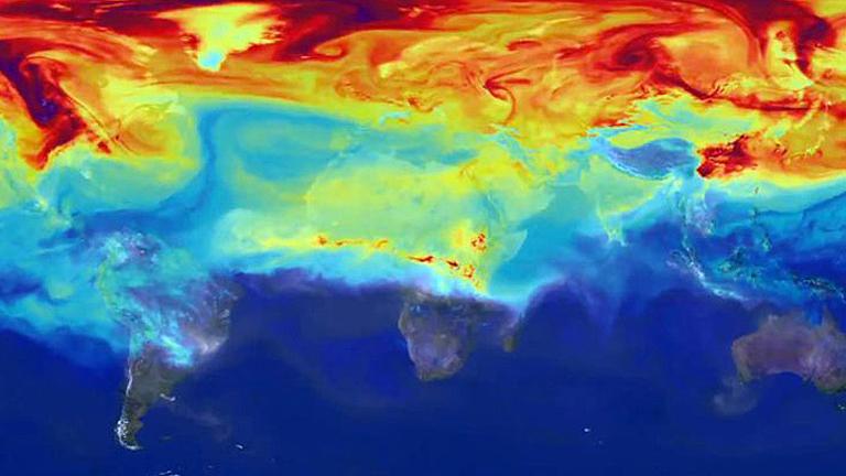 A klímakutatók modelljei szerint az északi féltekén elviselhetetlen lesz a hőség a nyári hónapokban (Kép: sph.berkeley.edu)