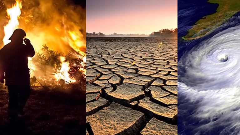Erdőtűz, elsivatagosodás, extrém időjárás - a klímaváltozás velejárói (Fotó: Tumblr)