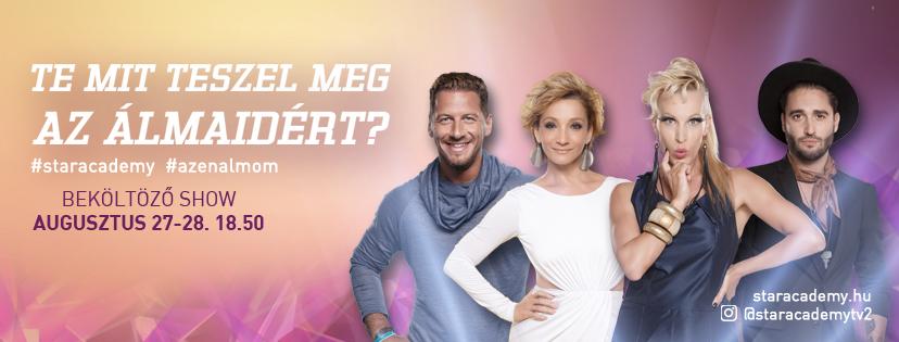 Stílusos bemutatkozás a TV2 új sztárjaitól: ők a Star Academy versenyzői