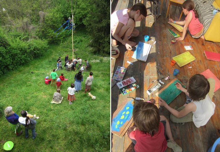 Egy magyar nő, aki hét éve tanul otthon gyerekeivel