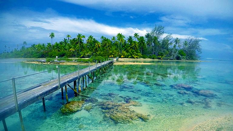 Fakarava, Francia Polinéziában (Fotó: Wynne-Hughes Veronika)
