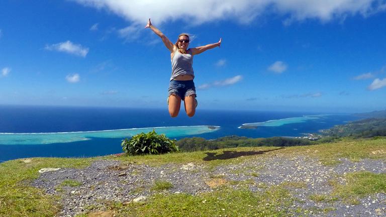 A francia polinéziai Raiatea szigetén (Fotó: Wynne-Hughes Veronika)
