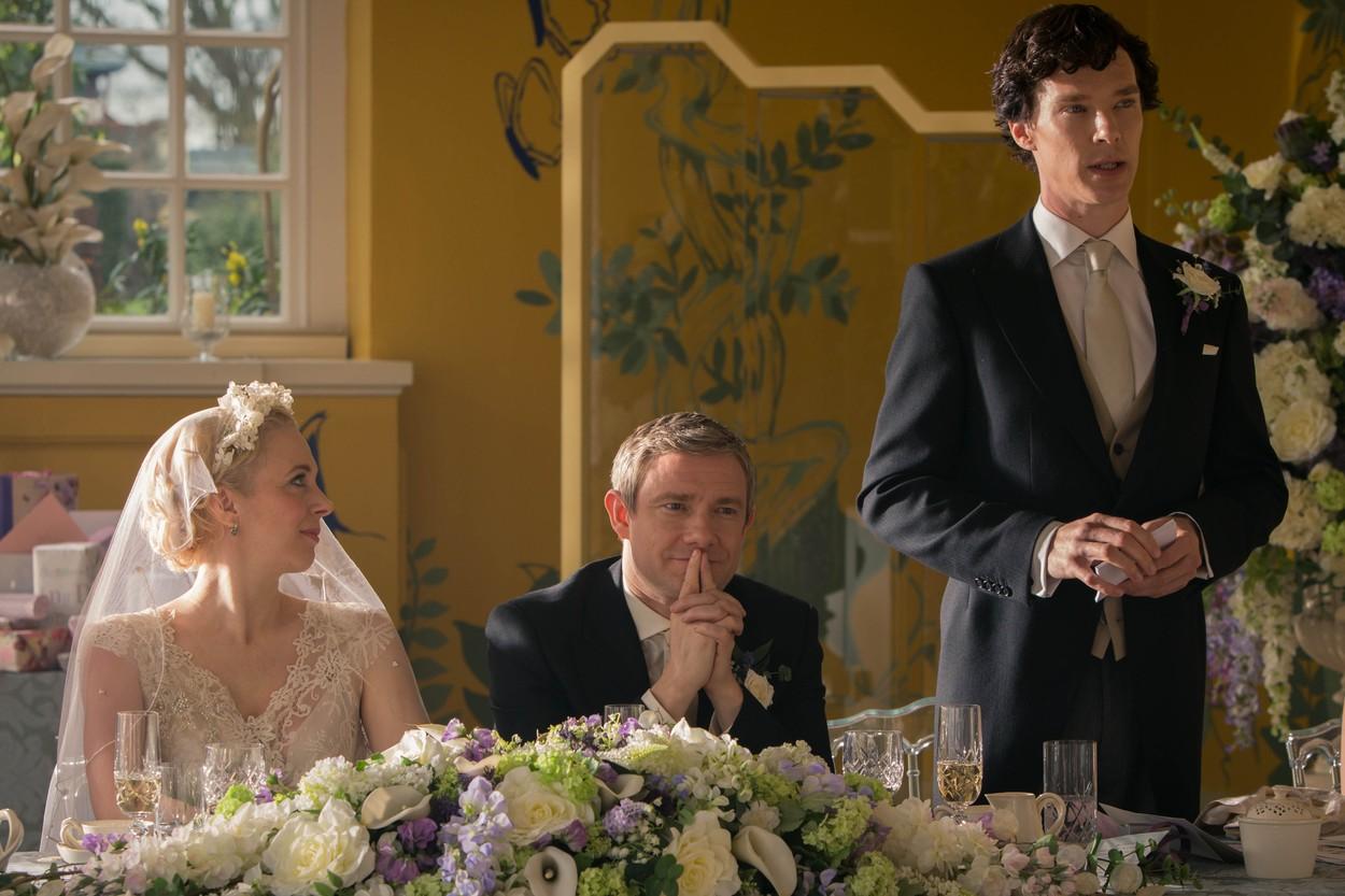 Benedict Cumberbatch: mindig Martin Freeman a legviccesebb a Sherlock forgatásain