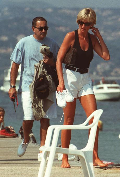 Dodi Al Fayed és Diana hercegnő