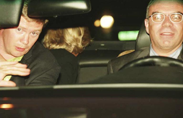 Diana sofőrje és testőre