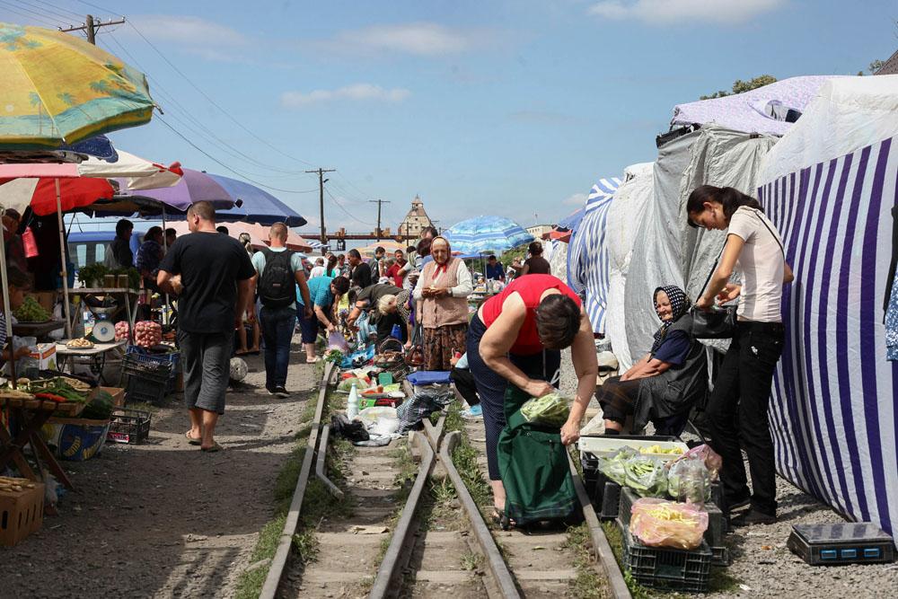 Nagyszőlősi piac