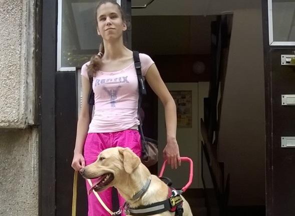 Egy kollégium sem ad szobát Alexának a vakvezető kutyája miatt