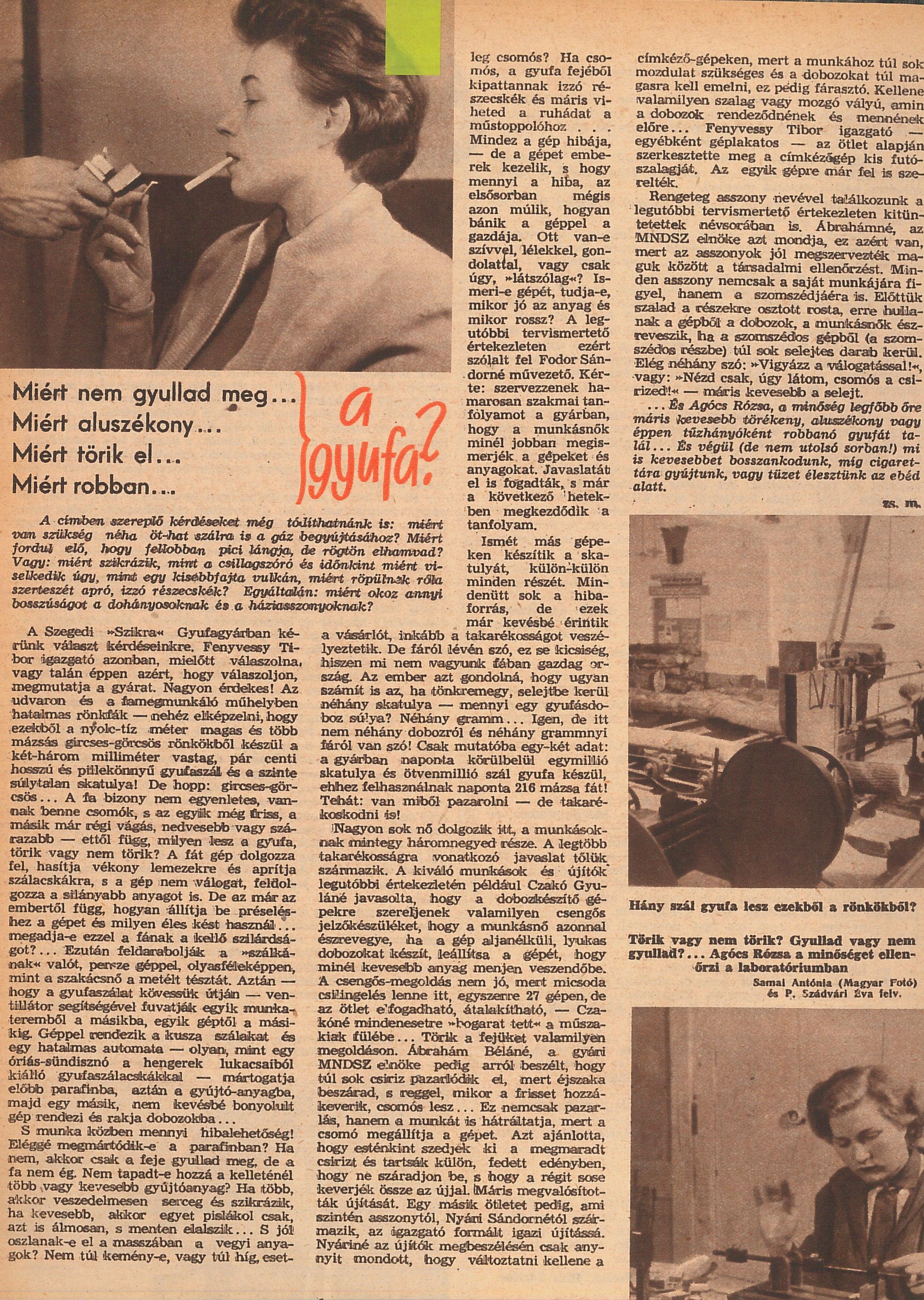 Kokainbáró, fogyitippek, 75 éves telefonközpont - ezek voltak a hírek az 1956-os forradalom előtt