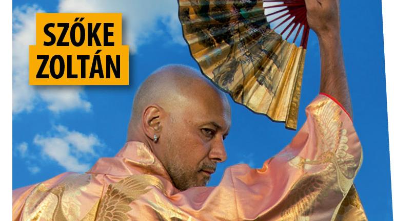 Szőke Zoltán kimonóban legyezi magát - micsoda képek!