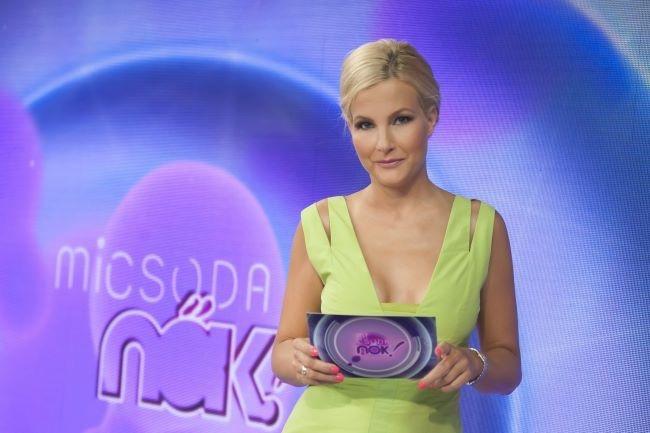 Az első fotó Várkonyi Andrea új műsorából