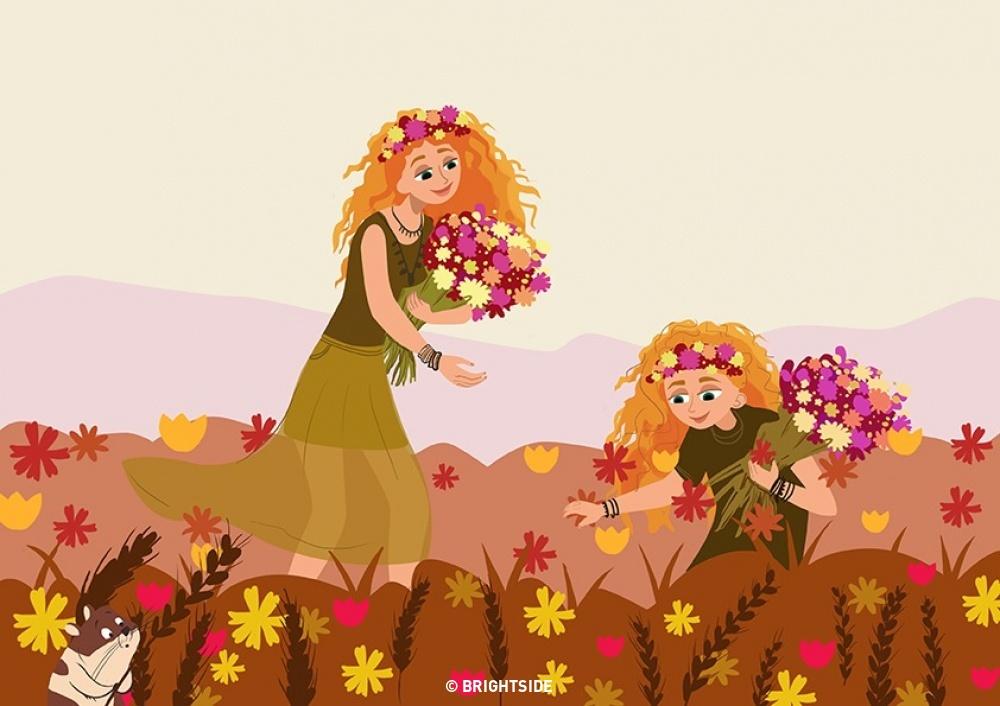 10 imádni való rajz, ami megmutatja az anya-lánya kapcsolat szépségeit