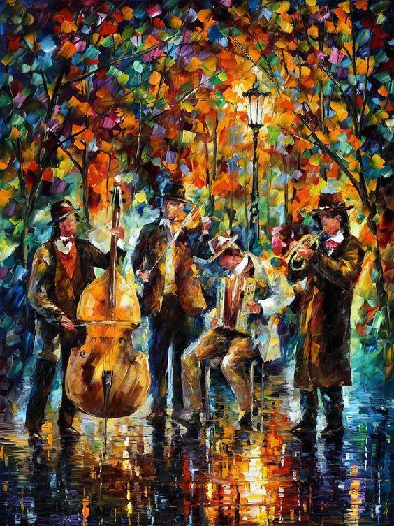 Képeivel gyógyít Leonid Afremov, a lélek festője