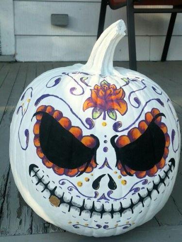 7 szuper festett tök Halloweenra