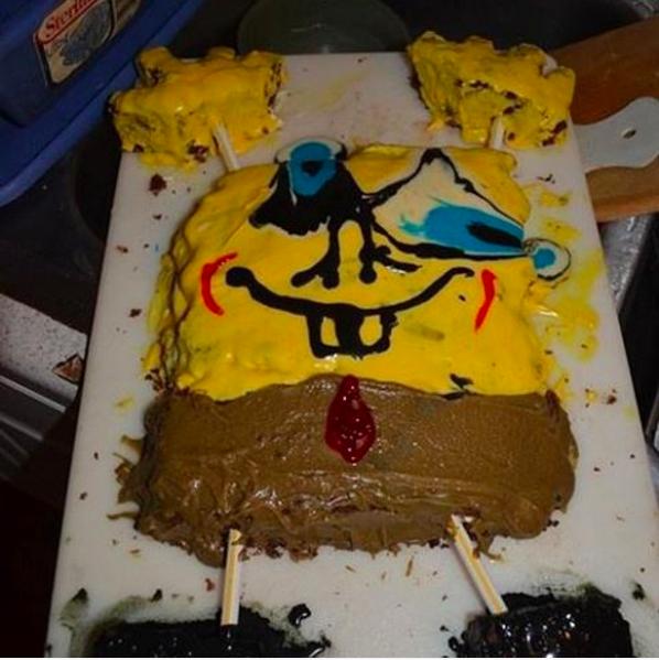 Fájdalmasan elrontott szülinapi torták, amik egy gyerek se örülne