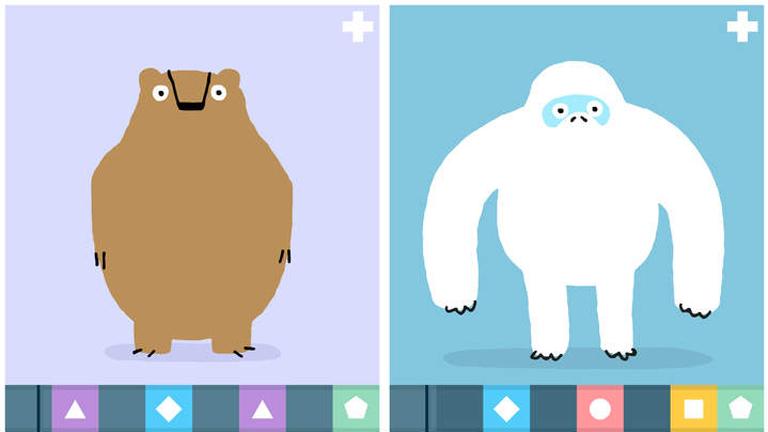 A Loopimals nevű játékban a zenei hangok segítségével mozgathatóak a mókás állatfigurák