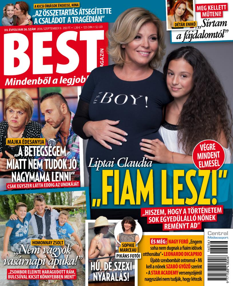 Liptai Claudia elárulta a baba nemét - először beszél a terhességéről