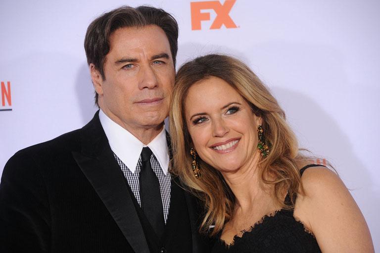 John és Kelly a FOX csatorna egyik idei rendezvényén (Fotó: Profimedia)