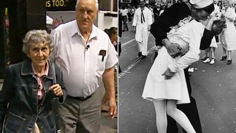 Meghalt a legendás világháborús fotón megcsókolt nő