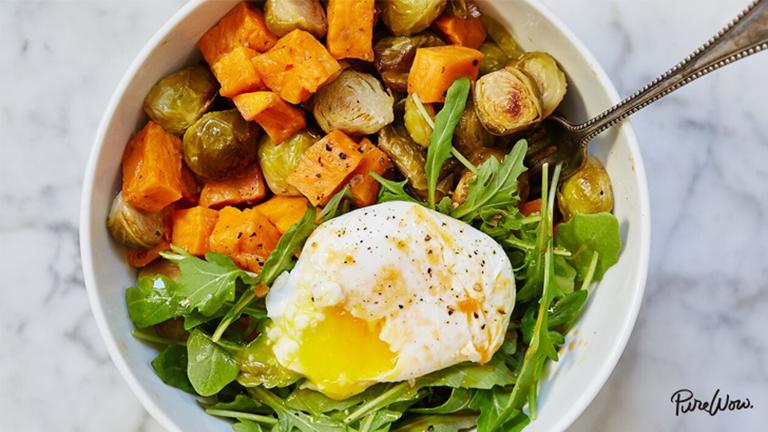 A tökéletes reggeli: zöldséges-tojásos egytál